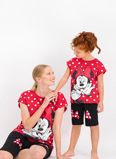 Minnie Mouse 2 li Takım Kırmızı